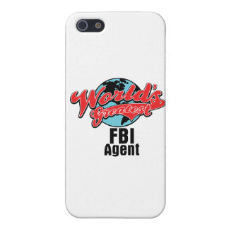 Worlds Greatest FBI Agent iPhone 5/5S Cover