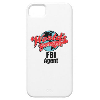 Worlds Greatest FBI Agent iPhone 5 Cases
