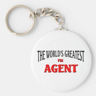 World's Greatest FBI Agent Key Chain