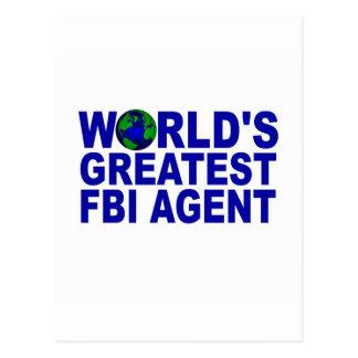 World's Greatest FBI Agent Post Cards