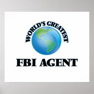 World's Greatest Fbi Agent Poster
