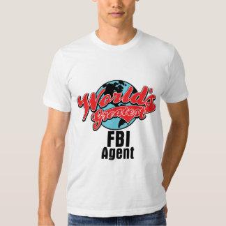 Worlds Greatest FBI Agent T-shirt