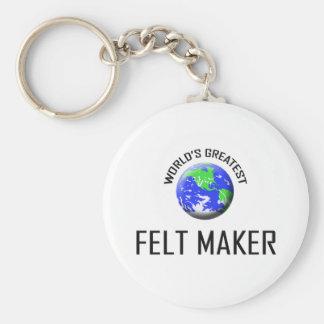 World's Greatest Felt Maker Keychain