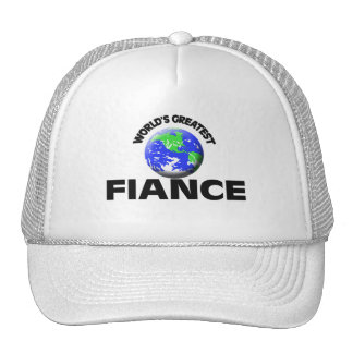 World's Greatest Fiance Trucker Hat