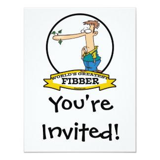 WORLDS GREATEST FIBBER MEN CARTOON CARD