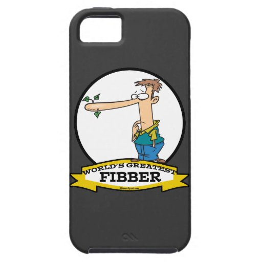WORLDS GREATEST FIBBER MEN CARTOON iPhone 5 COVERS