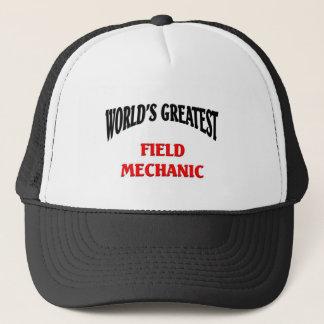 World's Greatest Field Mechanic Trucker Hat