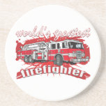 World's Greatest Firefighter Coasters