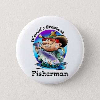 World's Greatest Fisherman Gear Button
