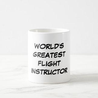 """World's Greatest Flight Instructor"" Mug"
