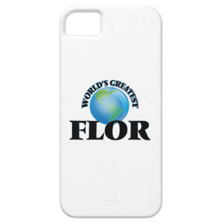 World's Greatest Flor iPhone 5 Cover