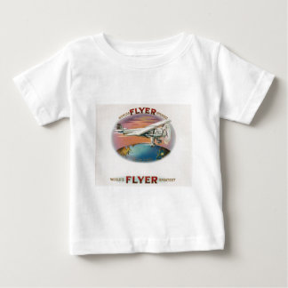 World's Greatest Flyer Vintage Spirit of St. Louis Baby T-Shirt