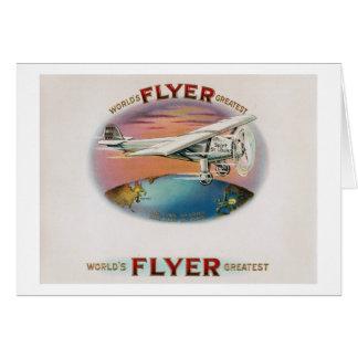 World's Greatest Flyer Vintage Spirit of St. Louis Card