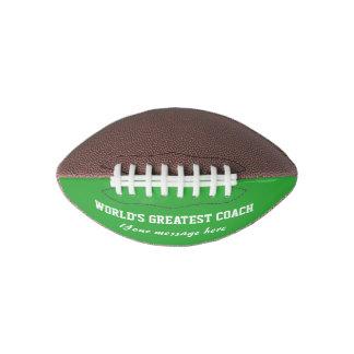 World's Greatest Football coach | Custom ball gift