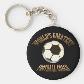 World's Greatest Football Coach Keychain