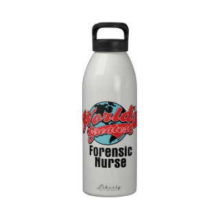 Worlds Greatest Forensic Nurse Drinking Bottle