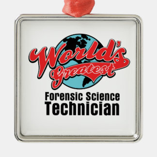 Worlds Greatest Forensic Science Technician Ornament