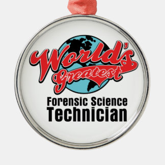 Worlds Greatest Forensic Science Technician Christmas Ornaments