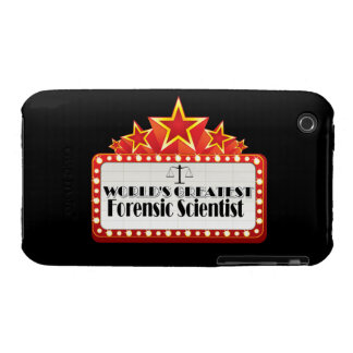 World's Greatest Forensic Scientist iPhone 3 Covers