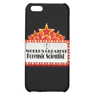 World's Greatest Forensic Scientist Cover For iPhone 5C