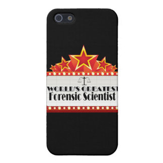 World's Greatest Forensic Scientist iPhone 5 Case