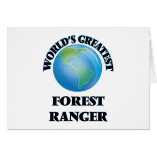 World's Greatest Forest Ranger Card