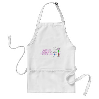Worlds Greatest Foster Mom Adult Apron
