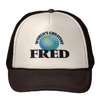 World's Greatest Fred Trucker Hat