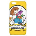 WORLDS GREATEST FRESHMAN BOY CARTOON CASE FOR iPhone 5C