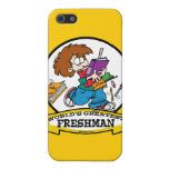 WORLDS GREATEST FRESHMAN BOY CARTOON COVERS FOR iPhone 5