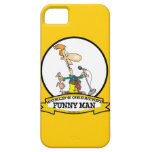 WORLDS GREATEST FUNNY MAN CARTOON iPhone 5 CASE