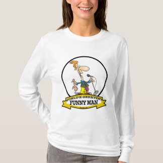 WORLDS GREATEST FUNNY MAN CARTOON T-Shirt