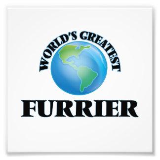 World's Greatest Furrier Photo Print