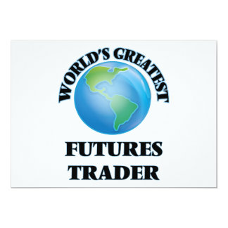 World's Greatest Futures Trader Personalized Announcements