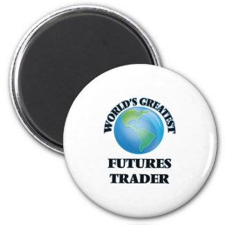 World's Greatest Futures Trader Refrigerator Magnet