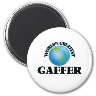 World's Greatest Gaffer 2 Inch Round Magnet
