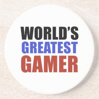 World's greatest GAMER Drink Coaster