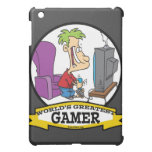 WORLDS GREATEST GAMER II CARTOON COVER FOR THE iPad MINI