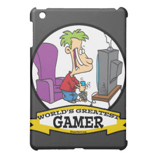 WORLDS GREATEST GAMER II CARTOON iPad MINI COVERS
