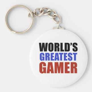 World's greatest GAMER Key Chains