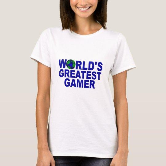 World's Greatest Gamer T-Shirt