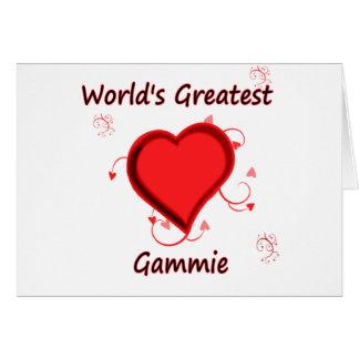 World's Greatest Gammie Card