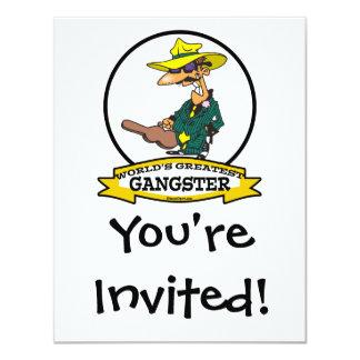 WORLDS GREATEST GANGSTER MEN CARTOON CARD
