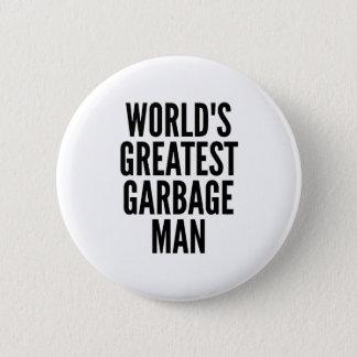 Worlds Greatest Garbage Man Button