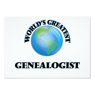 World's Greatest Genealogist Cards