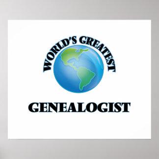 World's Greatest Genealogist Poster