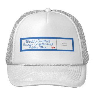 Worlds Greatest German Shorthaired Pointer Mix Hats