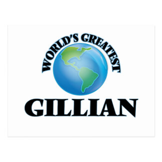 World's Greatest Gillian Post Cards