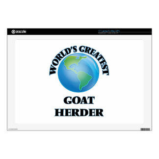 "World's Greatest Goat Herder Decals For 17"" Laptops"