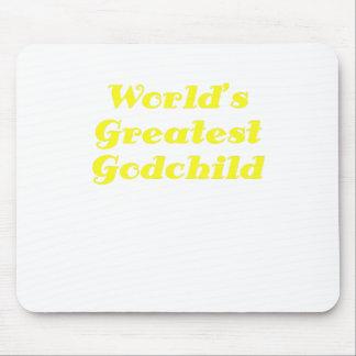 Worlds Greatest Godchild Mouse Pad